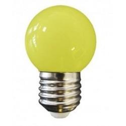 Lampe Sphérique Décorative 1W E27 Jaune