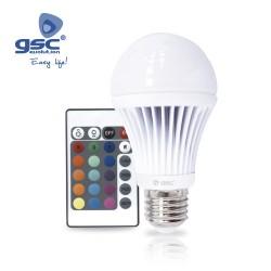 Ampoule Standard LED RGB 3