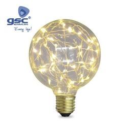 Ampoule Starlight Deco.Globe G95 LED 2W E27 3000K
