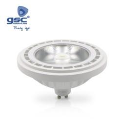AmpouleDichroïque LED COB AR111 15W GU10 3000K Dimmable