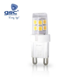 Ampoule LED mini 2W G9 3000K