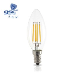 Ampoule Serie Oro Flamme LED 4W E14 3000K