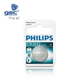 Piles Lithium PHILIPS CR2032 3V