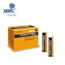 Boîte 10 Piles Alcaline Duracell Industriel LR03(AAA)
