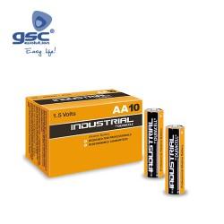 Boîte 10 Piles Alcaline Duracell Industriel LR6(AA)