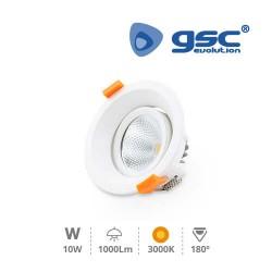 Spot Orientable Rond LED 9W COB 3000K