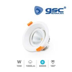 Spot Orientable Rond LED 9W COB 6000K