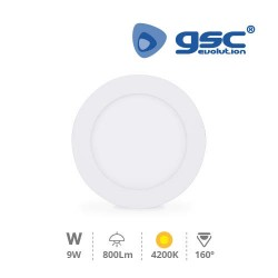 Downlight Encastrable LED Rond 9W - Blanc 4200K