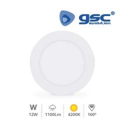 Downlight Encastrable LED Rond 12W - Blanc 4200K