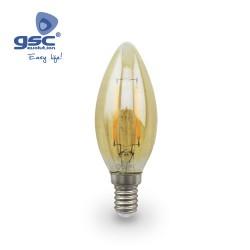 Ampoule Vintage Deco. Flamme LED 5W E14 2500K