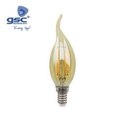 Ampoule Vintage Deco.Flamme  LED 4W E14 3000K