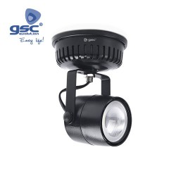 Spot Saillie LED 28W 3000K Noir