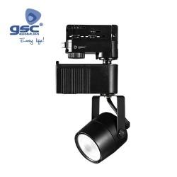 Spot Sur Rail LED  28W 3000K Noir