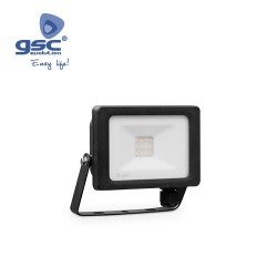 Projecteur LED 10W 3000K IP65 Noir