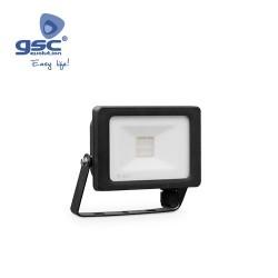 Projecteur LED 10W 6000K IP65 Noir