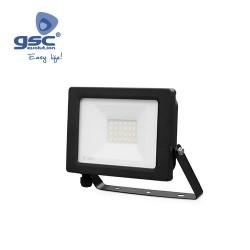 Projecteur LED 20W 3000K IP65 Noir