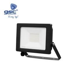 Projecteur LED 30W 3000K IP65 Noir