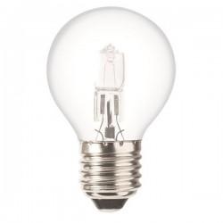 Ampoule Eco Halogène  Sphérique Claire E27 42W(60W)