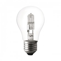 Ampoule Eco Halogène Forme Standard Claire E27 42W(60W)