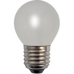Ampoule Eco Halogène Forme Sphérique Mate E27 42W(60W)