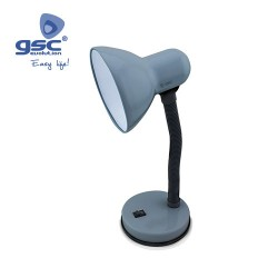 Lampe Flexible De Table Bell E27 40W- Gris