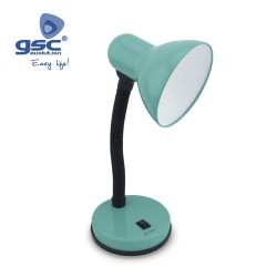 Lampe Flexible De Table Bell E27 40W- Turquoise
