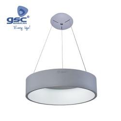 Ampoule Plafonnier LED Arum 42W 3000K Gris