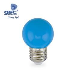 Lampe Sphérique Décorative 1W E27 Bleu